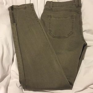 JOLT navy green jeans